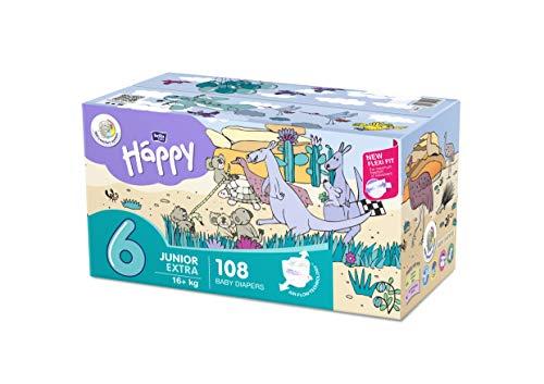 bella baby Happy Windeln Größe 6 Junior Extra, 1er Pack (1...