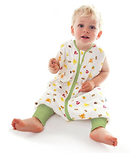 Schlummersack Babyschlafsack mit Füssen ganzjährig 2.5 Tog...