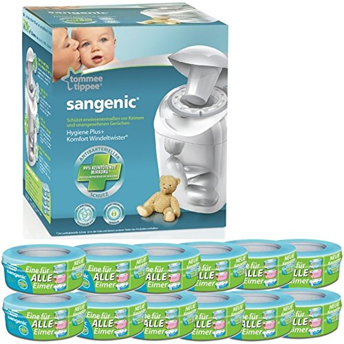 Sangenic Windeltwister MK4 Hygiene Plus+ Windeleimer inkl....