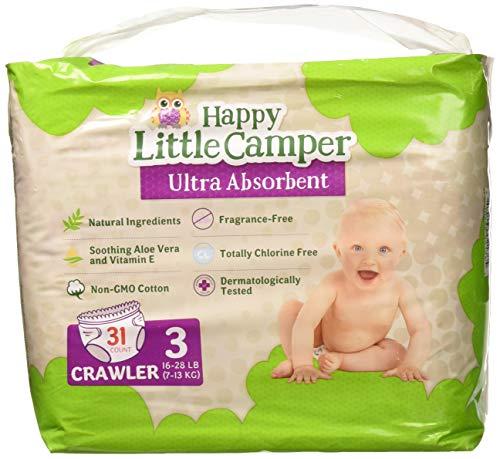 Happy Little Camper Premium Windeln, besonders saugfähig,...