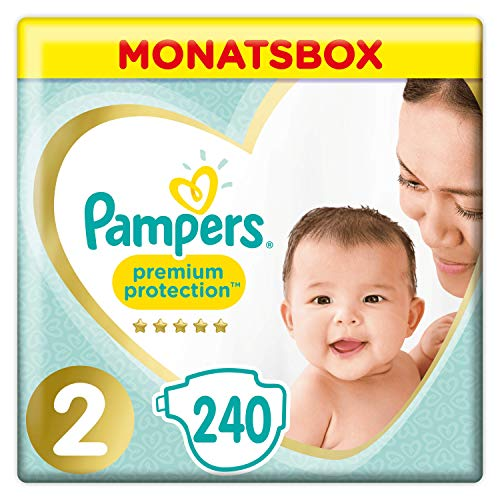 Pampers Premium Protection New Baby Größe 2, 4-8kg...