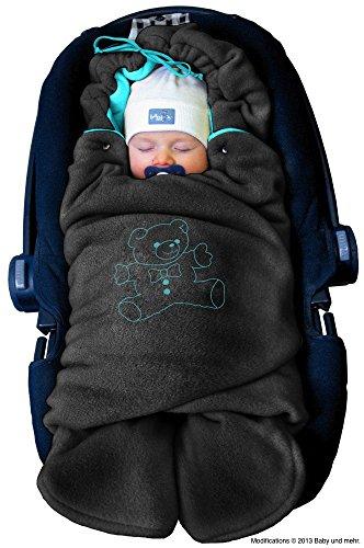 ByBUM - Baby Winter-Einschlagdecke 'Das Original mit dem...