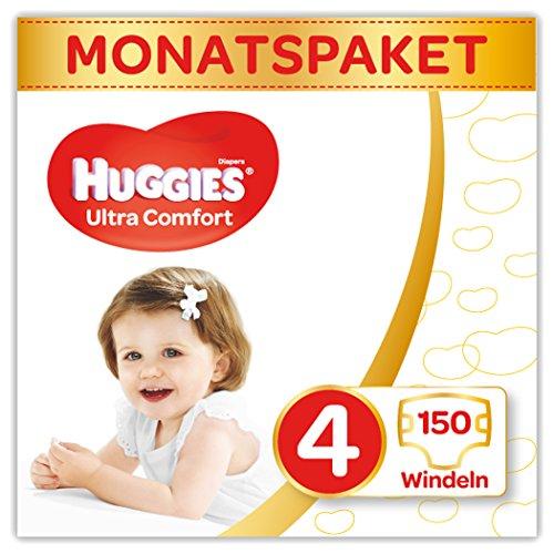Huggies Windeln Ultra Comfort Baby Größe 4 Monatsbox, 1er...