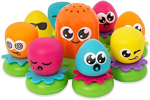 TOMY Wasserspiel für Kinder 'Okto Plantschis' Mehrfarbig,...