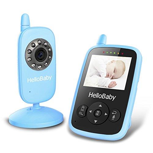 HelloBaby HB24 2.4' Digital Funk TFT LCD Drahtlos Babyphone...