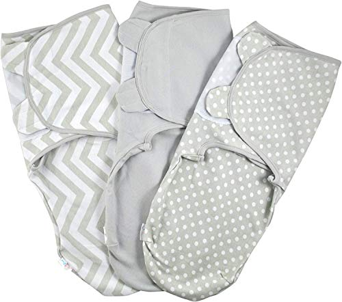 Baby Pucksack Wickel-Decke 220GSM / 1.0 TOG - 3er Pack...