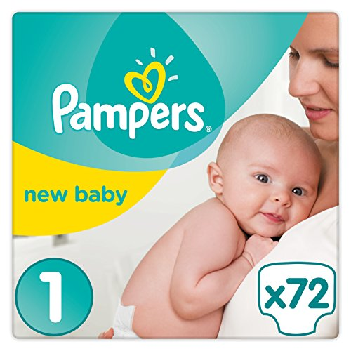 Pampers Premium Protection Baby Windeln, Gr.1 Newborn (2-5...