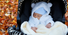 Baby Fußsack zum warm halten