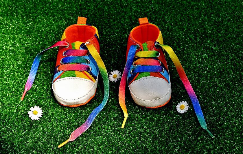 Schuhe zum laufen lernen für Babys