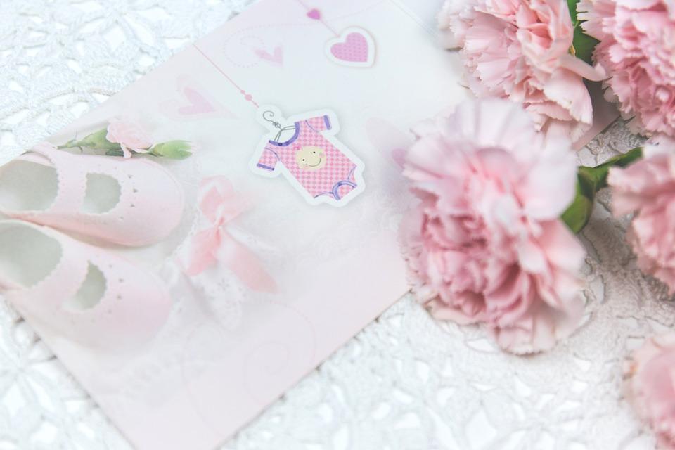 Babykarte schicken zur Geburt